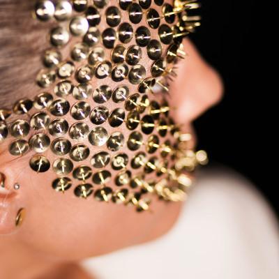 Gold Make Up Fotoshooting. Visagistin und Stylistin: Entire Beauty | Nadja Maisl, 2014, Salzburg