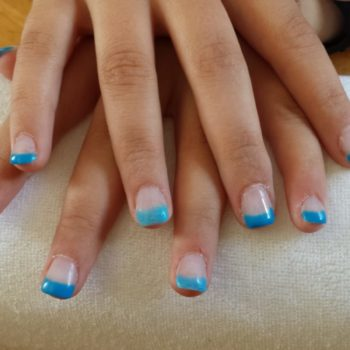Gelnägel, Acrylnägel, Blau. Fotograf: Nadja Maisl Nail Styling / Nageldesign: Nadja Maisl | Entire Beauty, 2015, Salzburg