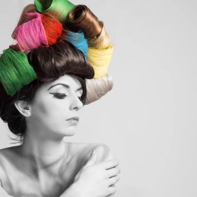 Hair Styling Locken. Photography by JF-Fotodesign (Jürgen Feichtner) | 2016