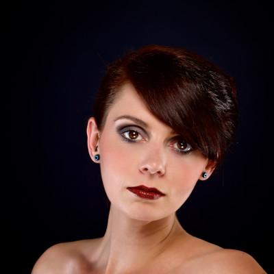 Portrait Make Up. Model: Mara Isabella Priesner, Visagistin und Stylistin: Nadja Maisl, 2016, Salzburg