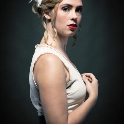 Steckfrisur Damen. Model: Emily Schmeller Fotograf: Christoph Haubner Visa: Nadja Maisl | Entire Beauty 2017, Salzburg