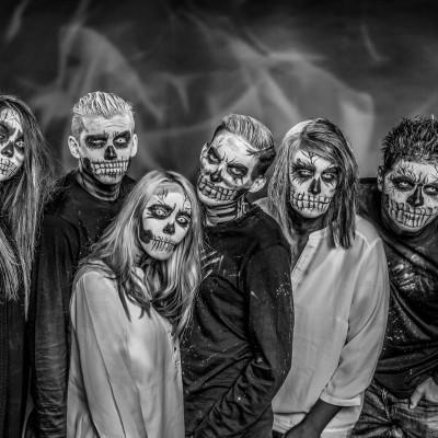 Halloween Zombie Fotoshooting. Fotograf: Richard Schnabler   2016